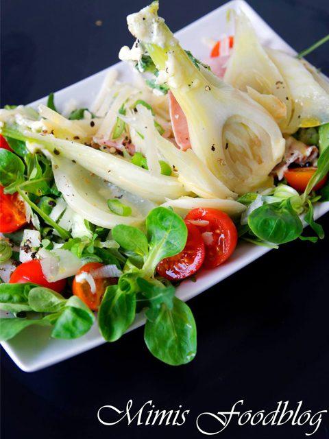 Salat mit Fenchel