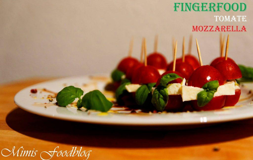 Fingerfood Tomate-Mozzarella