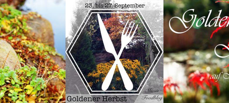Banner goldener Herbst