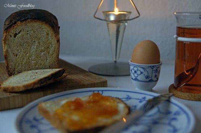 Frühstücks Weißbrot