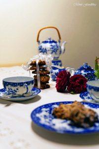 Hafer Cranberries Schoko Cookies 1