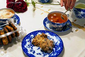 Hafer Cranberries Schoko Cookies 2