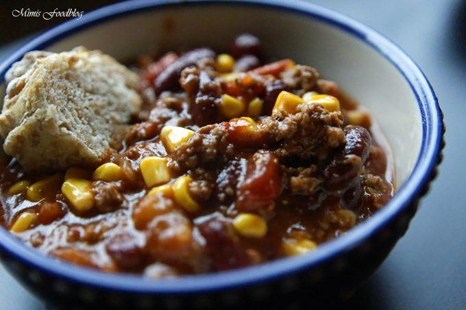 Chili con Carne mit Rauchnote