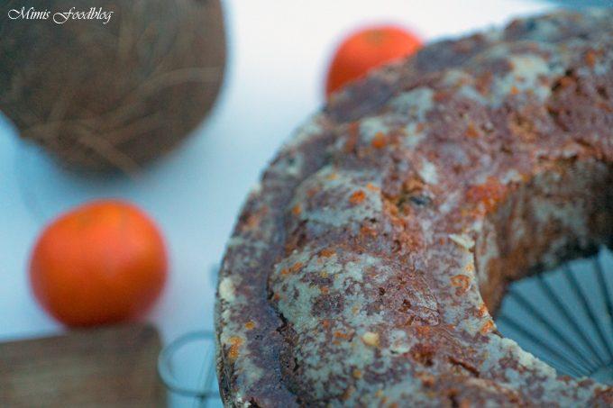 Kokossnuss-Mandarinen-Kuchen