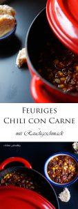 Feuriges Chili con Carne mit Rauchgeschmack