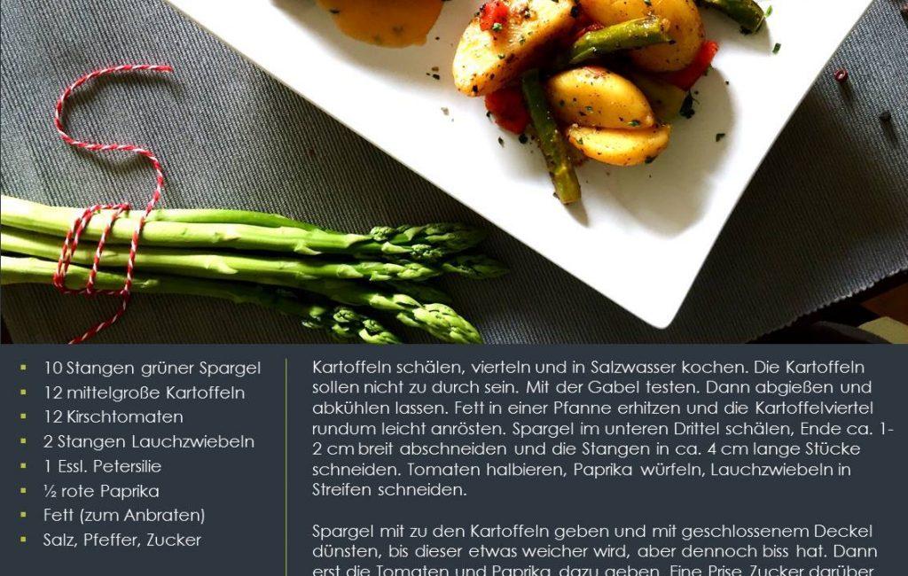 Kartoffel-Spargel-Pfanne