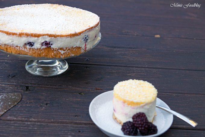 Brombeer Käsesahne-Torte