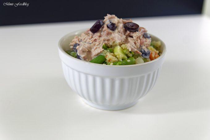 Couscous Salat mit Thunfischcreme