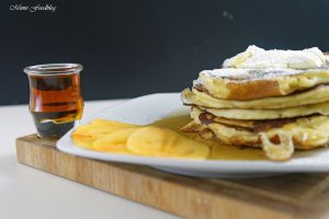 Buttermilch Pancakes 3