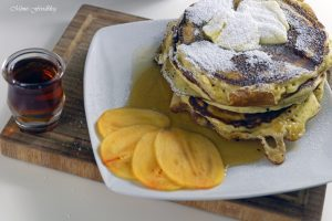 Buttermilch Pancakes 4