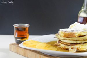 Buttermilch Pancakes 5