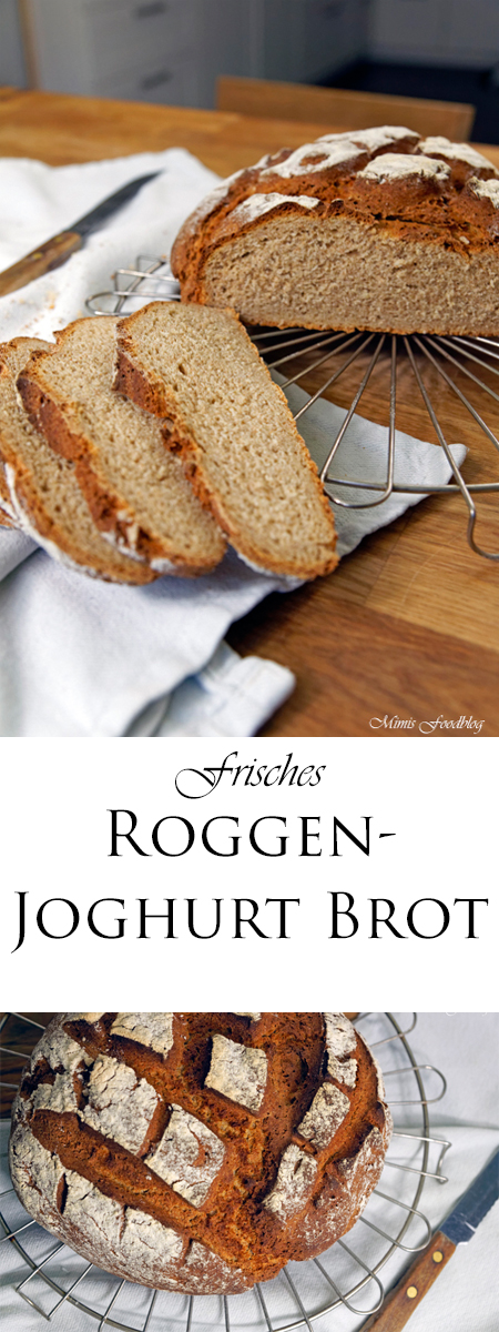 Roggen-Joghurt-Brot