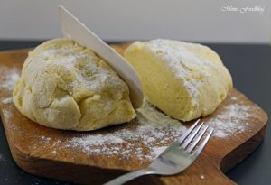 Selbst gemachte Gnocchi mit Bruschetta Butter Maronen und Grapefruit Guacamole 4