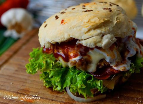 Ahorn BBQ-Burger