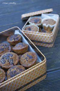 Gesunde Buchweizen Schoko Muffins mit Karotten und Haferflocken 1