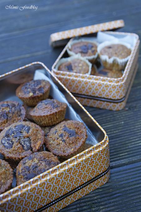 Gesunde Buchweizen Schoko Muffins Mit Karotten Und Haferflocken