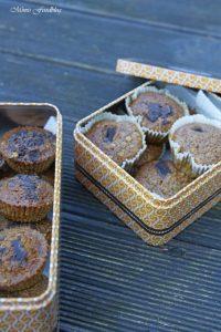 Gesunde Buchweizen Schoko Muffins mit Karotten und Haferflocken 5