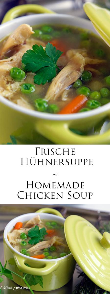 hühnersuppe rezept einfach