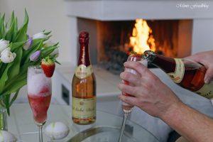 Etikettengestaltung Sag's mit Rotkäppchen von Herzen Erdbeersorbet von Mimis Foodblog 12
