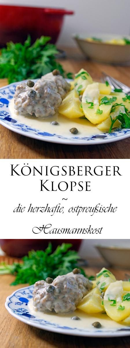 Königsberger Klopse ~ die herzhafte, ostpreußische Hausmannskost