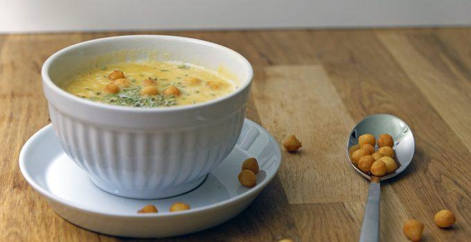 Linsen Kürbis Suppe mit Rosmarin 2
