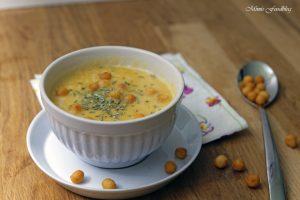 Linsen Kürbis Suppe mit Rosmarin 4