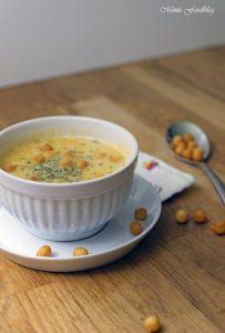Linsen Kürbis Suppe mit Rosmarin 5