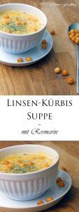 Linsen Kürbis Suppe mit Rosmarin 7
