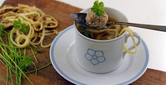 Suppenklößchen klassische Suppeneinlage 6