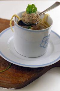Suppenklößchen klassische Suppeneinlage 4
