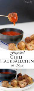 Gefüllte Chili Hackbällchen mit Käse 9
