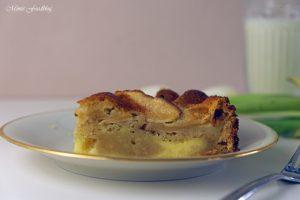 Versunkener Apfel Käsekuchen 1