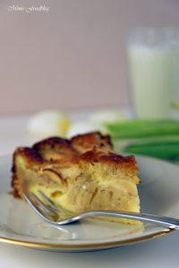 Versunkener Apfel Käsekuchen 5