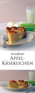 Versunkener Apfel Käsekuchen 6