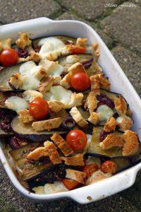 Aubergine al forno mit Hirse ein herzhafter vegetarischer Auflauf 3