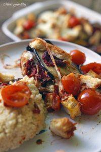 Aubergine al forno mit Hirse ein herzhafter vegetarischer Auflauf 5