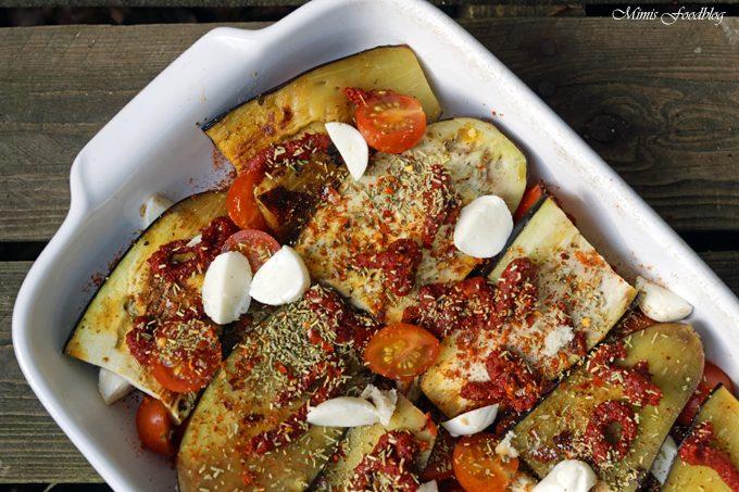 Aubergine al forno mit Hirse – ein herzhafter vegetarischer Auflauf
