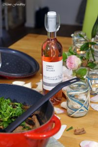 Carna de porco com amêijoas Schweinefleisch mit Muscheln und Vinho Verde Wein 11