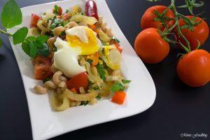 Fenchel Pasta Salat mit Chili und Minze Ein fruchtig frischer Sommergenuss 1