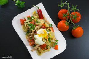 Fenchel Pasta Salat mit Chili und Minze Ein fruchtig frischer Sommergenuss 2