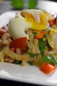 Fenchel Pasta Salat mit Chili und Minze Ein fruchtig frischer Sommergenuss 3