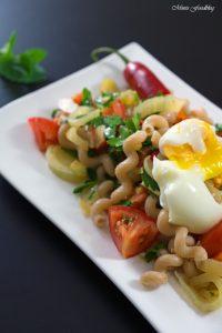 Fenchel Pasta Salat mit Chili und Minze Ein fruchtig frischer Sommergenuss 6