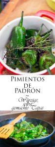 Pimientos de Padrón Würzige selbst gemachte Tapas 6