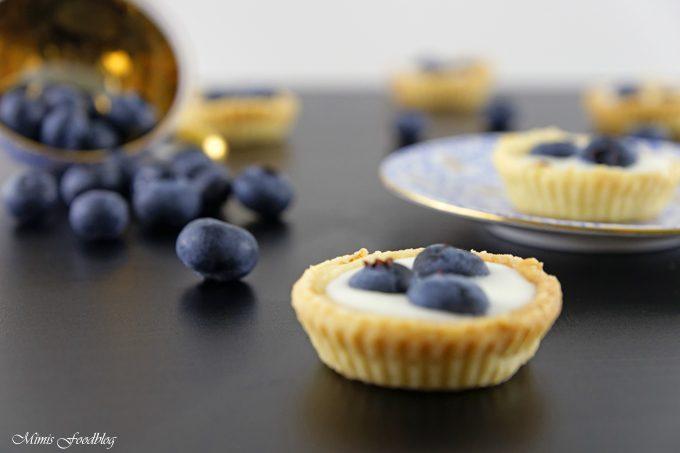 Mini Heidelbeer-Joghurt-Küchlein ~ der fruchtig, frische Sommernachtisch