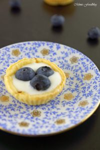 Mini Heidelbeer Joghurt Küchlein der fruchtig frische Sommernachtisch 3