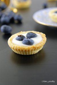 Mini Heidelbeer Joghurt Küchlein der fruchtig frische Sommernachtisch 4