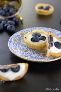 Mini Heidelbeer Joghurt Küchlein der fruchtig frische Sommernachtisch 8