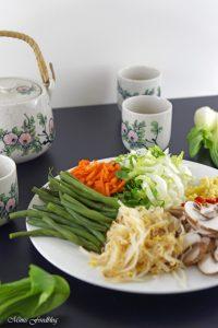 Rindfleisch mit Glasnudeln ein leckeres asiatisches Bowl Rezept 2