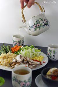 Rindfleisch mit Glasnudeln ein leckeres asiatisches Bowl Rezept 3