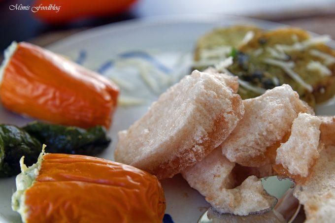 Tomateneis ~ die deftige Eisvariation mit mediterranen Häppchen